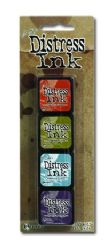Tim Holtz® Distress Mini Ink Kit from Ranger - Kit #8